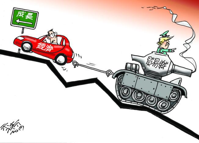 貿易戰拖累