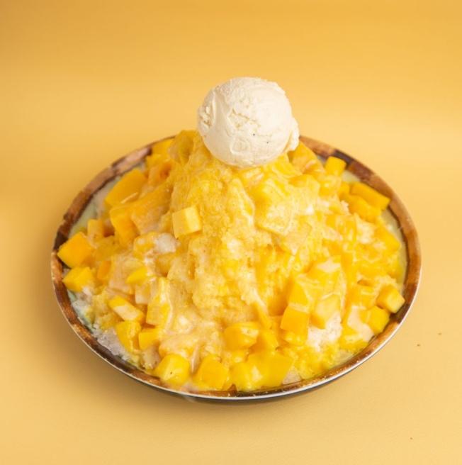 鮮芋仙芒果牛奶冰。(取自鮮芋仙Yelp)