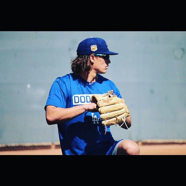 卡特告別洛杉磯道奇隊。(取材自Instagram)