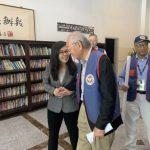 中華民國退伍軍人協會南加分會籌委會訪世報
