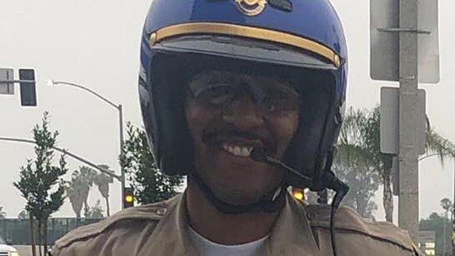 加州公路巡警局交警是莫耶二世夢寐以求的工作。(聖伯納汀諾縣消防局提供)