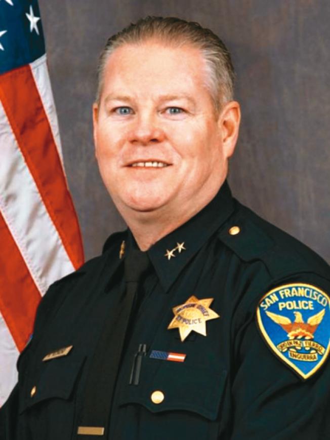 現任副局長雷蒙德將升任助理局長。(舊金山警局提供)