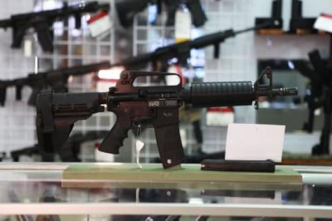 Full Armor Gun Range被搶了30次,因保護得宜,都沒有少掉一支槍械。(店家官網)