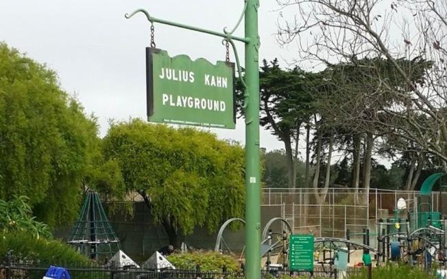 Julius Kahn公園位於舊金山Presidio區。(取自谷歌地圖)