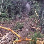 豪雨地震土崩  阿里山森林小火車暫停駛