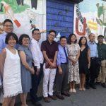 法拉盛友聯街壁畫揭幕 展社區特色