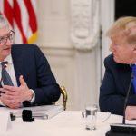 川普推文:蘋果在美砸錢投資  今與庫克共進晚餐