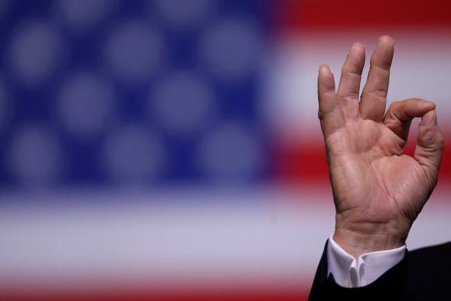 川普總統放話說,美國欲購格陵蘭島,被丹麥政壇當成笑談。(路透)