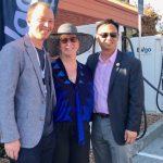 密爾布瑞首座電動汽車充電站啟用