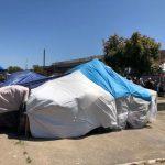 華埠麥迪遜公園遊民帳篷警方下月清除
