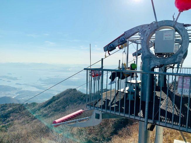 高空滑索 挑戰南韓新高度