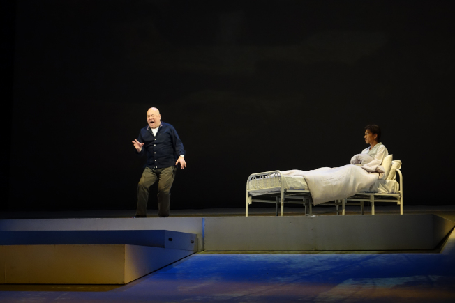 田浩江在劇中回憶和哥哥的往事。(主辦單位提供)