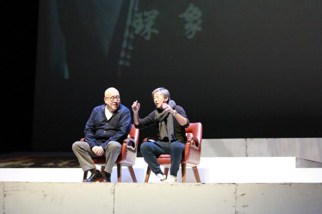 「往事只能回味」裡,王偉忠和田浩江唱起同一首歌。(主辦單位提供)