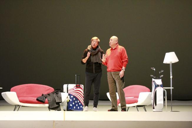 舞台劇「往事只能回味」因演出因簽證問題被迫取消。(主辦單位提供)