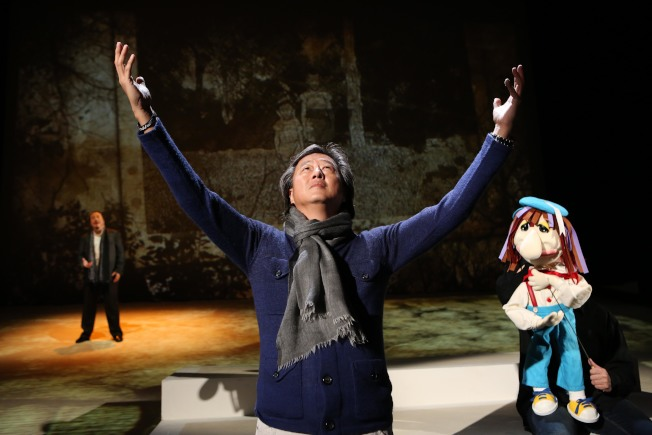 王偉忠從自身經歷,衍伸台灣近半世紀的滄桑歲月。(主辦單位提供)