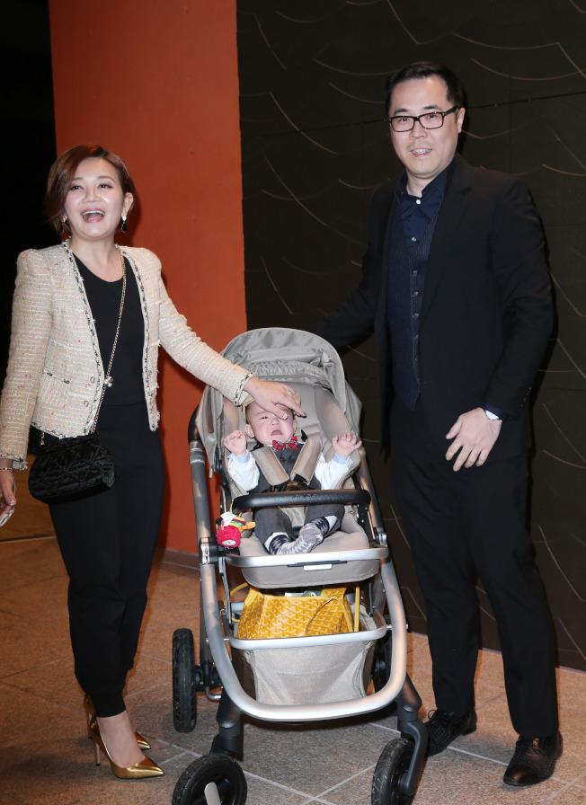 梁靜茹和丈夫婚後育有一子。(本報資料照片)