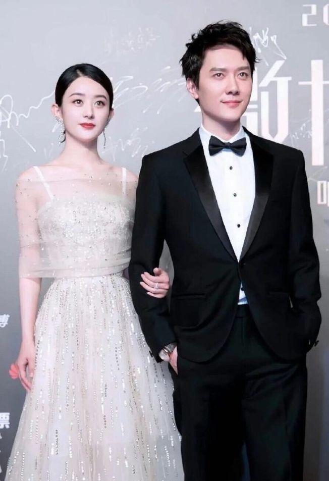趙麗穎和馮紹峰傳要辦婚禮了,時間就選在10月趙麗穎生日當天。(取材自微博)