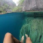 一窺菲律賓「冷熱湖」 湖水超清澈宛如仙境