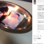 藝人賴冠霖挺港警 粉絲群起「燒照片」洩憤