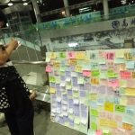高雄學生聲援香港 高雄車站靜坐挺反送中