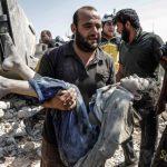 政府軍和俄軍空襲敘西北村莊 母子一家7口亡