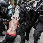 俄州波特蘭爆衝突  極左極右群眾13人被捕  川普推文遭批「噪音」