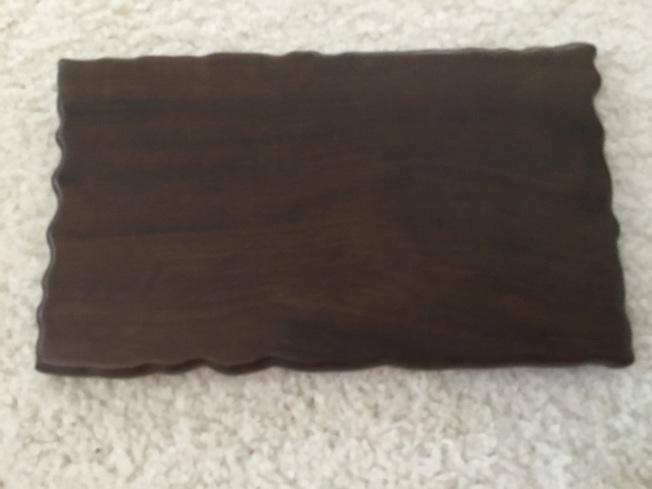 這方木硯,雖近百年,但藏家都捨不得用。(作者提供)