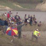爾灣湖重開放 釣客搶頭香 仍禁止遊湖