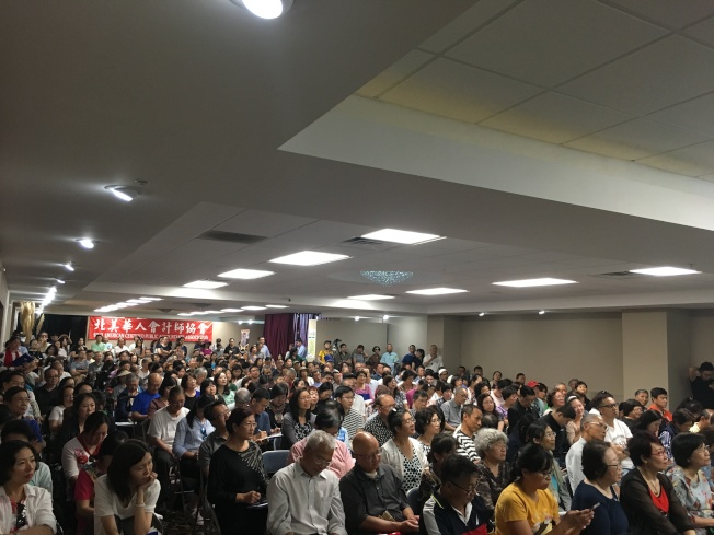 「世界大講堂-美國財稅實務論壇」實用內容吸引大批民眾到場取經。(記者謝雨珊/攝影)