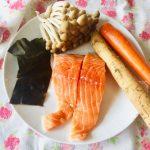 料理功夫|鮭魚牛蒡炊飯