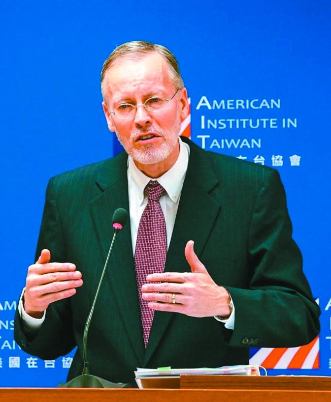 美國在台協會(AIT)處長酈英傑。(本報資料照片)