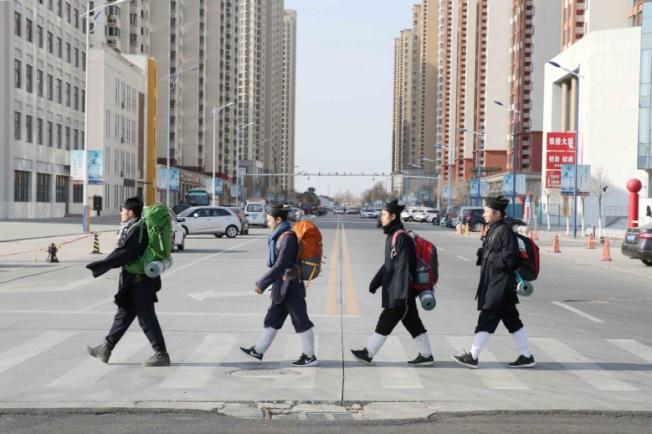 《少年問道》是先前唯一公開表態參加台灣金馬影展的中國電影。(圖:海鵬提供)
