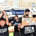 挺港vs.親中 示威潮蔓延全球