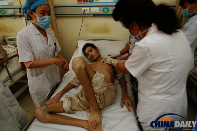 隨著經濟發展,勞工保障不足,中國矽肺病人進一步上升,成為全世界最多矽肺病人的國家。(取材自中國日報網資料照片)