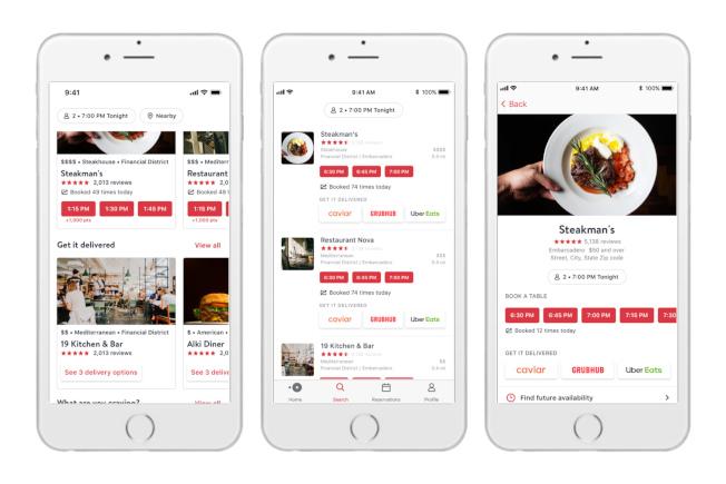 過去幾年餐飲業最重要的發展就是科技與外送和訂餐的快速整合。(美聯社)