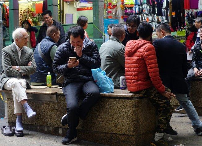 香港今年5至7月失業率升至2.9%。圖為資料照片。(中通社)