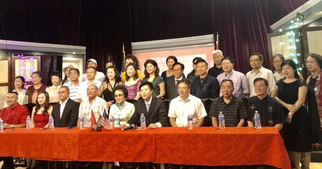 南加華僑華人為慶祝中華人民共和國70華誕,活動組委會19日宣布將舉辦系列活動。(記者張宏/攝影)