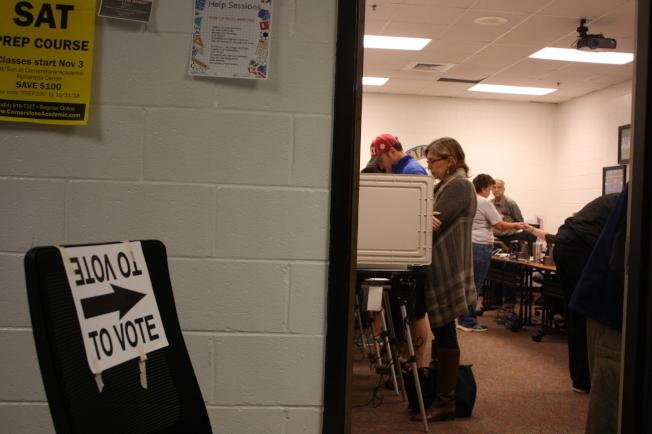 聯邦法官上周裁定禁止喬治亞州在今年(2019)之後,使用現有的純電子投票系統。(記者林昱瑄/攝影)