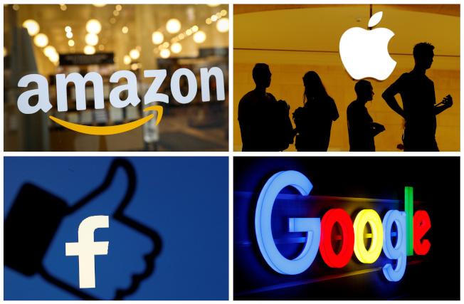 美國多州檢察總長準備對科技巨擘展開反托辣斯聯合調查,科技四巨頭谷歌、臉書、亞馬遜和蘋果都被點名。路透