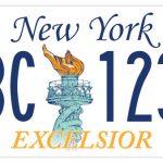 紐約州新車牌 5種設計開放票選