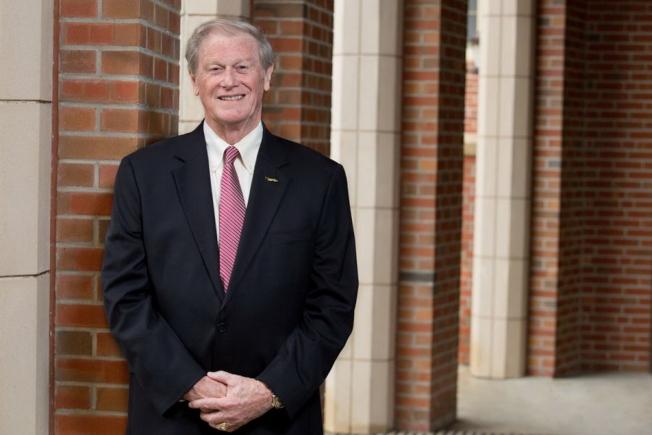 佛州收入第三高的大學校長佛羅里達州立大學(FSU)校長John E. Thrasher,年薪103萬928元。(取自FSU官網)
