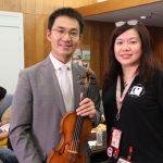 中國中央音樂學院教授高参 國際音樂大賽開「大師班」