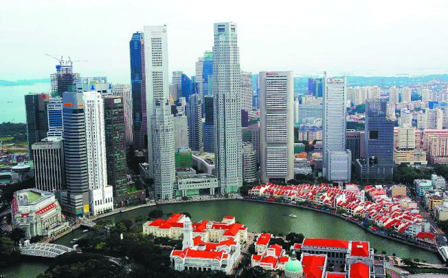 新加坡面臨海平面上升威脅。(路透)