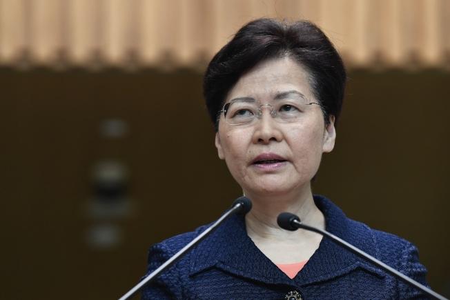 香港特首林鄭表示會馬上展開工作,建立對話平台。(中通社)