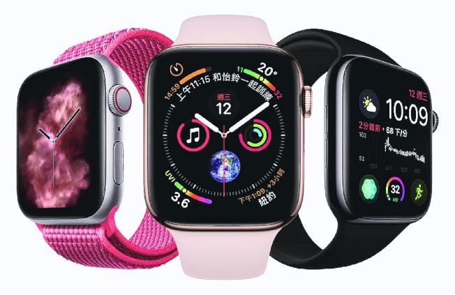 第五代Apple Watch將延續上一代兩款表面尺寸,目前尚不清楚將如何區分鈦或陶瓷版尺寸。圖為Apple Watch Series 4。(圖:燦坤提供)
