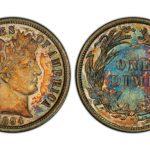好貴的10分錢  僅9枚! 125年歷史  拍賣132萬元