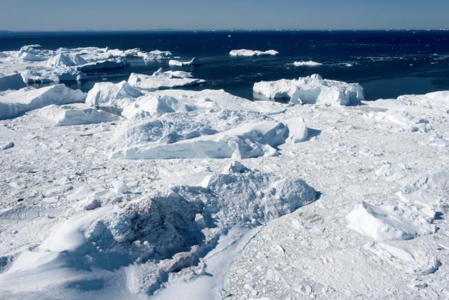 格陵蘭的冰川峽灣已被聯合國列入世界遺產。(路透)