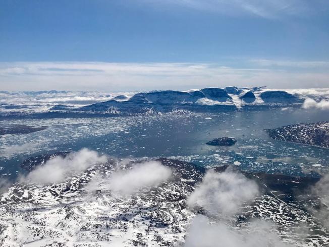 格陵蘭島大部分地區終年覆蓋冰雪,地形崎嶇,但是礦藏豐富。(歐新社)