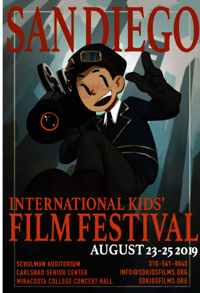 「第16屆聖地牙哥國際兒童電影節」將於8月23日在聖地牙哥盛大開幕。(聖地牙哥國際兒童電影節)
