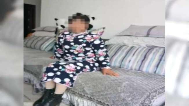 失蹤的女友小瓊,最後竟嫁給綁匪。(視頻截圖)